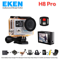 4K Action Camera EKEN H8PRO With Ambarella A12 WiFi 2 0 Dual LCD Remote Controller H8pro