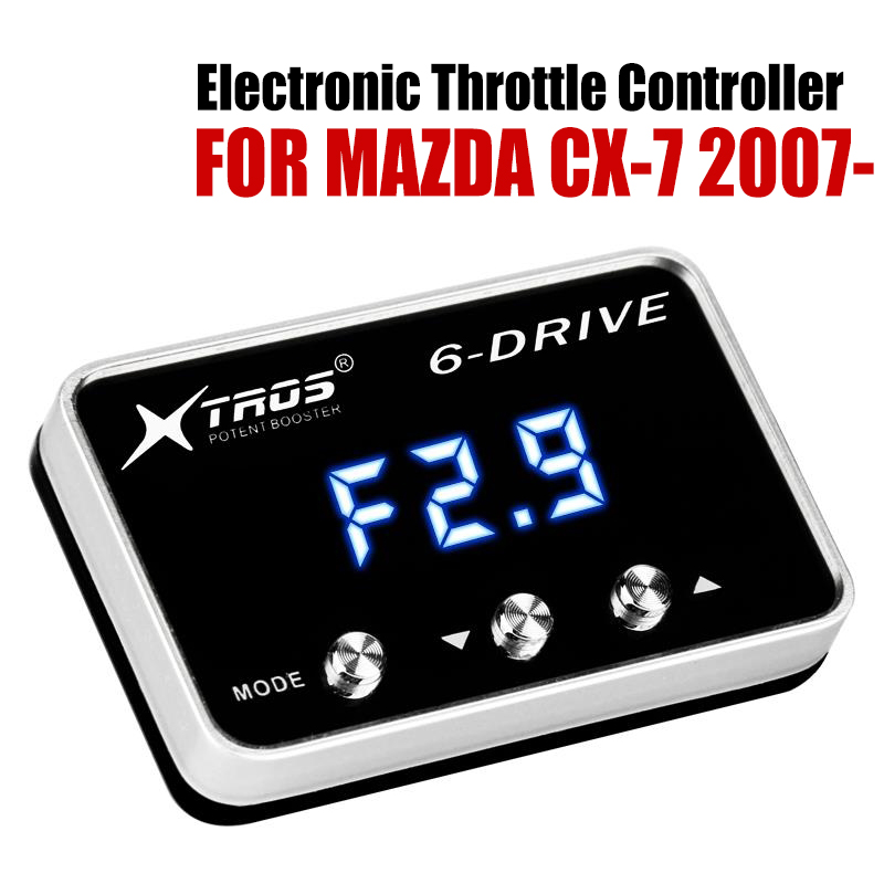 Car Electronic Throttle Controller Racing Accelerator Potent Booster For MAZDA CX-7 2007-2019 Tuning Parts AccessoryCar Electronic Throttle Controller Racing Accelerator Potent Booster For MAZDA CX-7 2007-2019 Tuning Parts Accessory