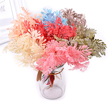 Artificial Plants Simulation bouquet Home decoration DIY handmade garland material flower head Cute headwear accessories AQ205