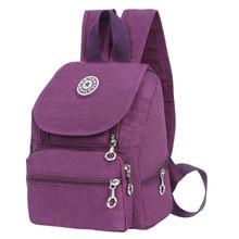 Для женщин рюкзак небольшой рюкзак леди Для женщин Рюкзаки женский Повседневное дорожная сумка Школьные сумки для девочек Mochila Feminina