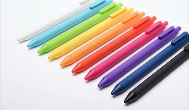 قلم جيل شاومي كاكو ملون نقي للجنسين بطلاقة للكتابة 0.5 مللي متر عبوة قلم توقيع Mi للمدرسة واللوازم المكتبية متينة