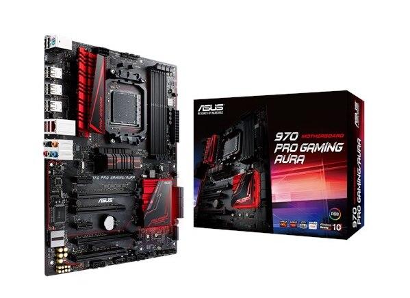 ASUS 970 Pro Gaming AMD970 puce gaming gaming carte mère supporte FX8300 nécessite une carte graphique séparée 90% nouveau