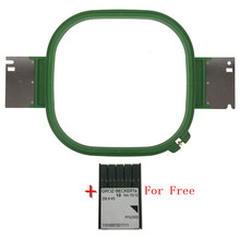 12pcs High Quality Tajima Green Hoops 240X240mm 24x24cm Square shape Total Length 395mm TAJIMA tubular frame