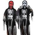 Esqueleto niños disfraces de halloween dress bebé trajes ropa ropa trajes de fantasía ghost skeleton scream