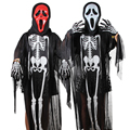 Skeleton Kids Halloween Costumes Dress Baby Costumes Clothing Whimsy Ghost Clothes Suits Skeleton Scream