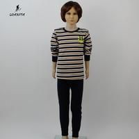 무료 배송 LVANITA 브랜드 겨울 남여 긴 존스 아이 소녀 소년 100% 면 열 속옷 세트 나이 3-16Yrs 10 스타