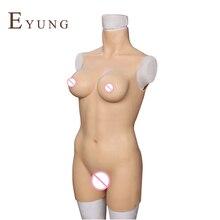 YR-B3-S/L силиконовые накладная грудь для трансвестита Трансвеститы транссексуал боди перетащите queen леди мальчик сиськи ЛГБТ поддельные киска