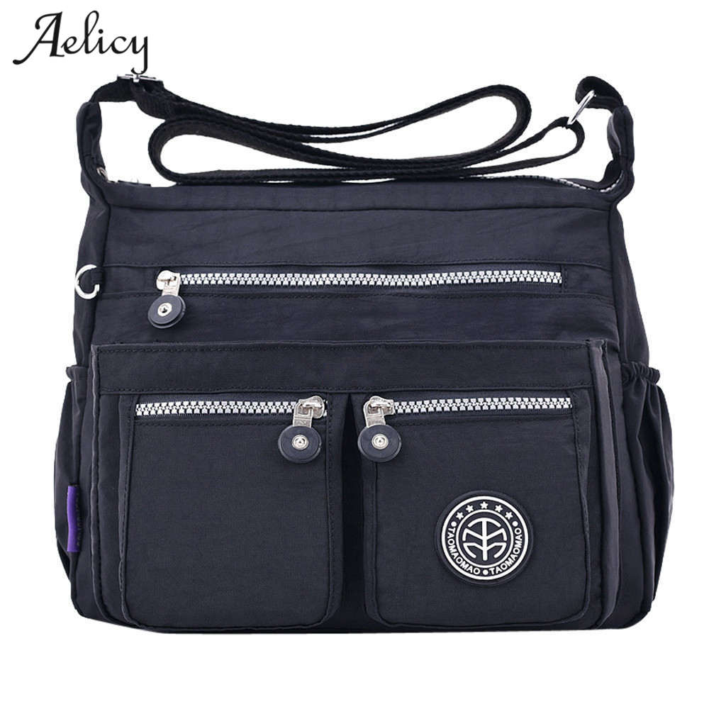Aelicy New Women Messenger Bags for Women Waterproof Nylon Handbag Female Shoulder Bag Ladies Crossbody Bags bolsa sac a main