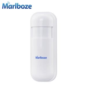 Image 2 - 5pcs Marlboze 433MHz Wireless Smart Infrared sensor PIR Motion Detector for PG103 Home Security WIFI GSM 3G GPRS Alarm system