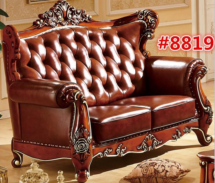 Single Sofa Set Designs: Carving Sofa Single Seater Latest Designs 8819-in Living