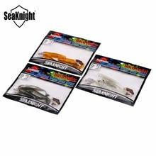 SeaKnight Soft Lure SL004 6g 10cm 3.9inch 4PCS T Tail Fish Lure Soft Bait Fishing Lure Carp Fishing Tackle Saltwater/Freshwater