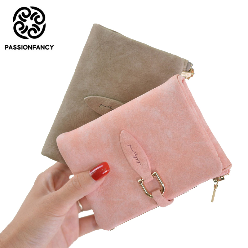 Ladies Girls Purse Wallet Card Holder Short Clutch Credit Card Horse Print