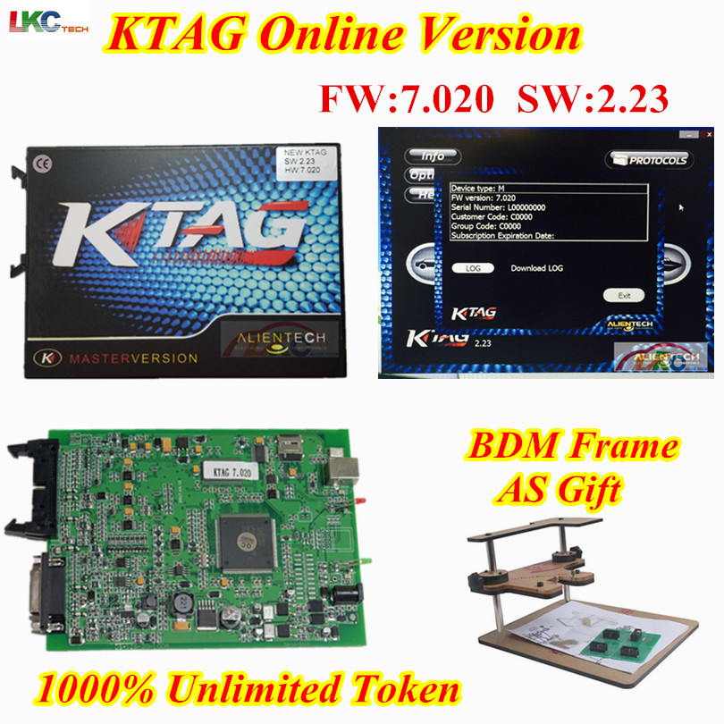 New Online Master Version Ktag V7.020 ECU Chip Tuning K TAG V2.23 No Token K Tag 7.020 K-Tag Update Of Ktag V6.070 DHL Free online master kess v5 017 v2 23 ktag v7 020 v2 23 no tokens limit kess 5 017 k tag k tag 7 020 ecu programmer dhl free
