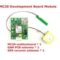 MC20 geliştirme kurulu modülü + GSM PCB anten + GPS seramik anten Metin veri GPSMC20GSMPGPRSBD Pusula geliştirme kurulu