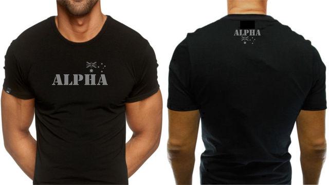 71b71cee2d8 Men Creative Casual Casual Short Sleeve Tshirt Novelty Alpha Australian  Army Tshirts Custom