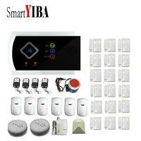 Smartyiba приложение Управление Беспроводной домашней проводной Охранной Сигнализации Системы газа сигнализации touch ключ GSM SMS alarmes Детекторы д