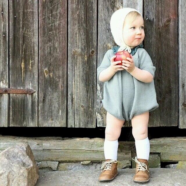 Детские трикотажные ползунки для девочек осенний свитер для детей пуловер Малыш Синий Оранжевый детская одежда для мальчиков FILLE Sueter детские