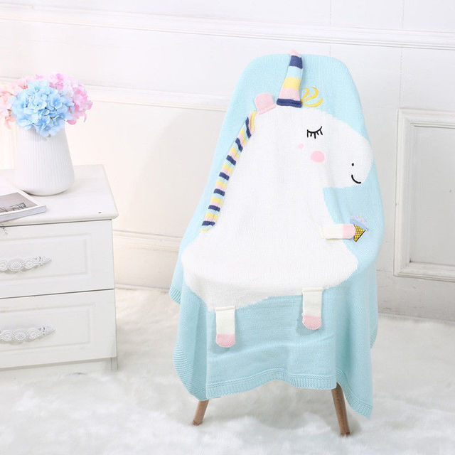 ec573d31e Personalised Baby Blanket Comforter Bright   Soft Perfect Baby Gift ...