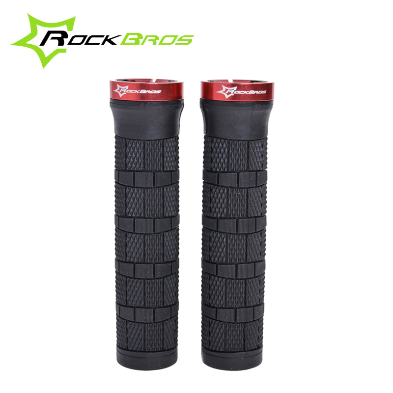 RockBros MTB Bike Bike Fixed Gear Lock-on Gome Grip Ciklizmi Biciklete Grips Biciklete Pjesa Bike, 4 Ngjyra