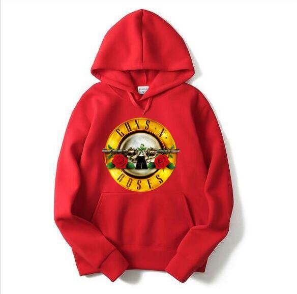 c5b8a5551b New Rock Band Punk Gun N Rose Hoodie Men's Hoodie Fashion Hoodie Men's  Hip-Hop Casual Clothes