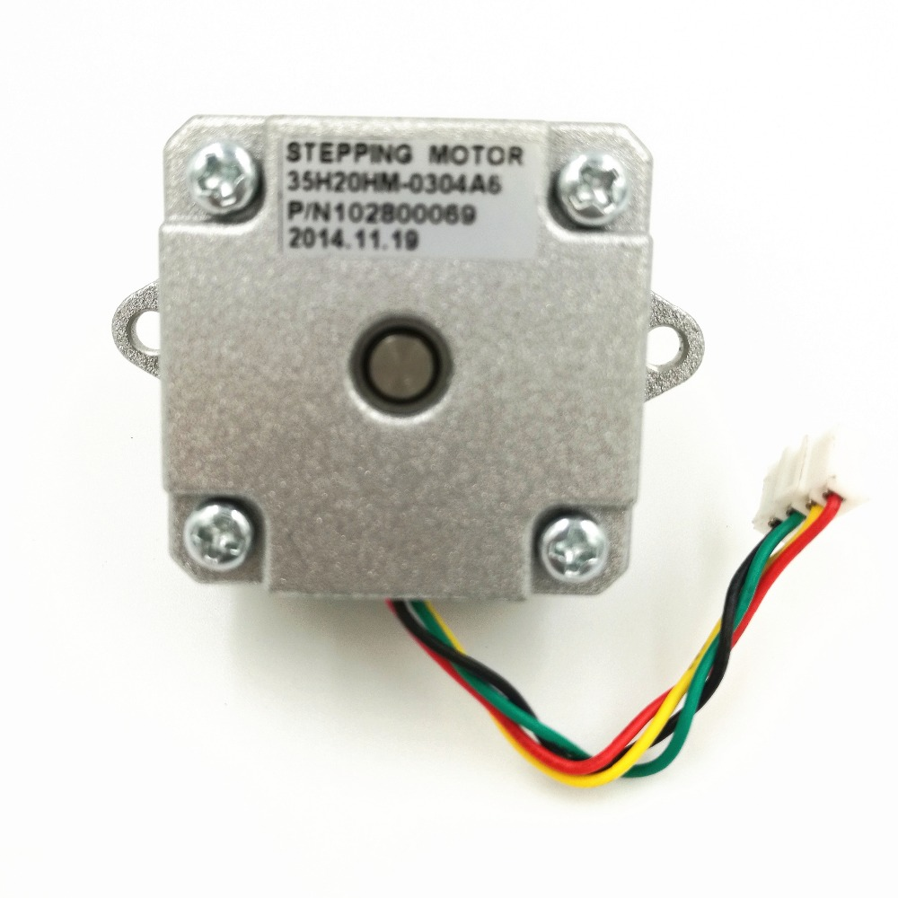 DC 12V 2 Phase 4 Wire 35 Stepper Motor 0.9 degree 20mm 3D printer ...