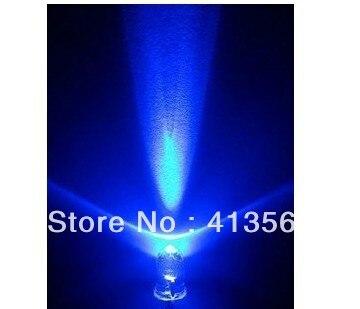 5 мм с подсветкой/-сине-белые волосы и Ярко синий светодиод/светоизлучающих Диоды Длинные нога 1000 шт.