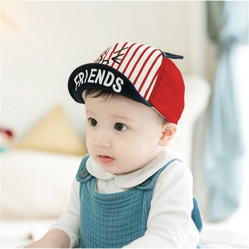 4a3bf962db2 Baby Hat Cartoon Cute Cats Kids Baseball Hat Baby Boy Beanie Summer ...