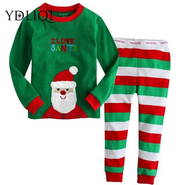Aliexpress.com : Buy YDLIQI Boy Christmas Pajamas suit 2018 New ...