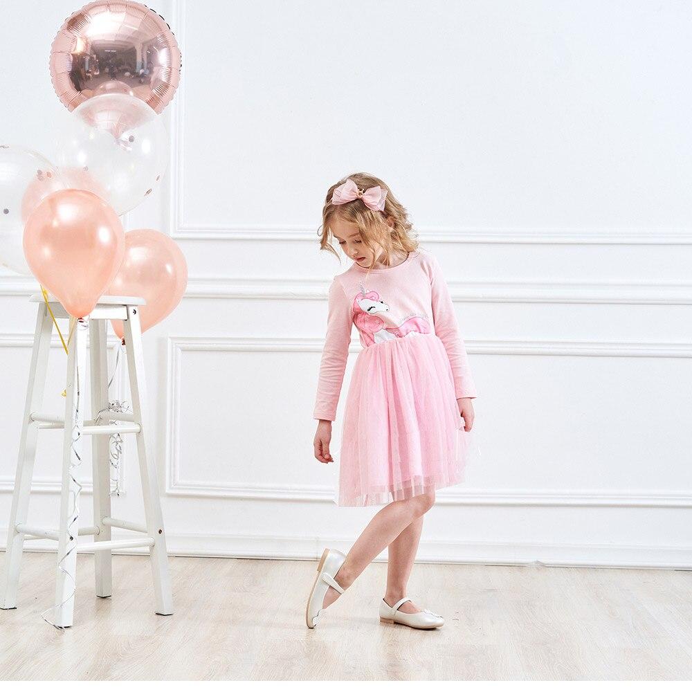 HTB10uMFMpzqK1RjSZFvq6AB7VXa3 VIKITA Girls Dress Long Sleeve Kids Flower Dresses Children Unicorn Vestidos 2019 Girls Dresses Autumn Kids Dress For Girl