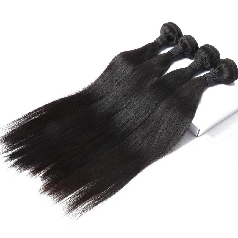 Barangan Rambut Brazil Lurus Rambut Lurus Berus Rambut Tawaran Produk - Rambut manusia (untuk hitam) - Foto 5