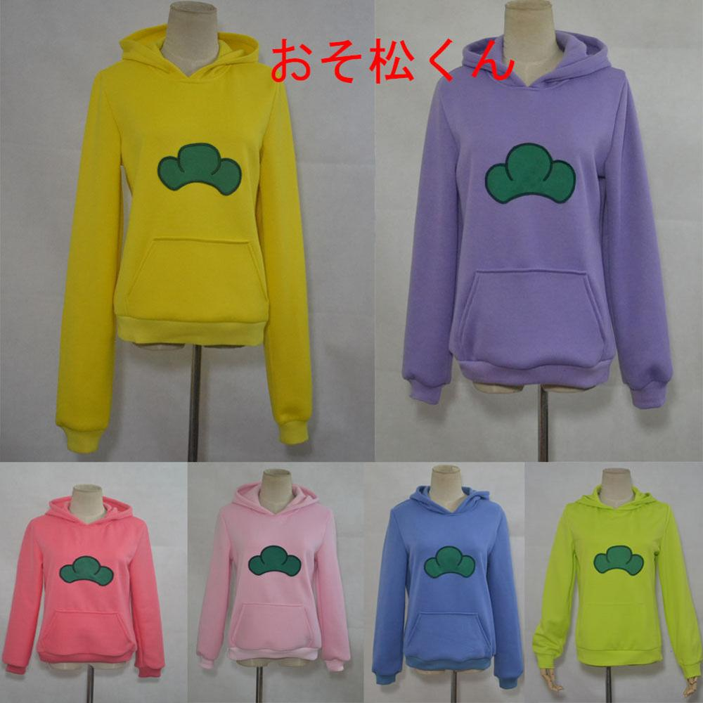 Осындай алты адам Osomatsu san Kun Hoodie Jacket Coat Sweatshirt Anime Cosplay костюмі