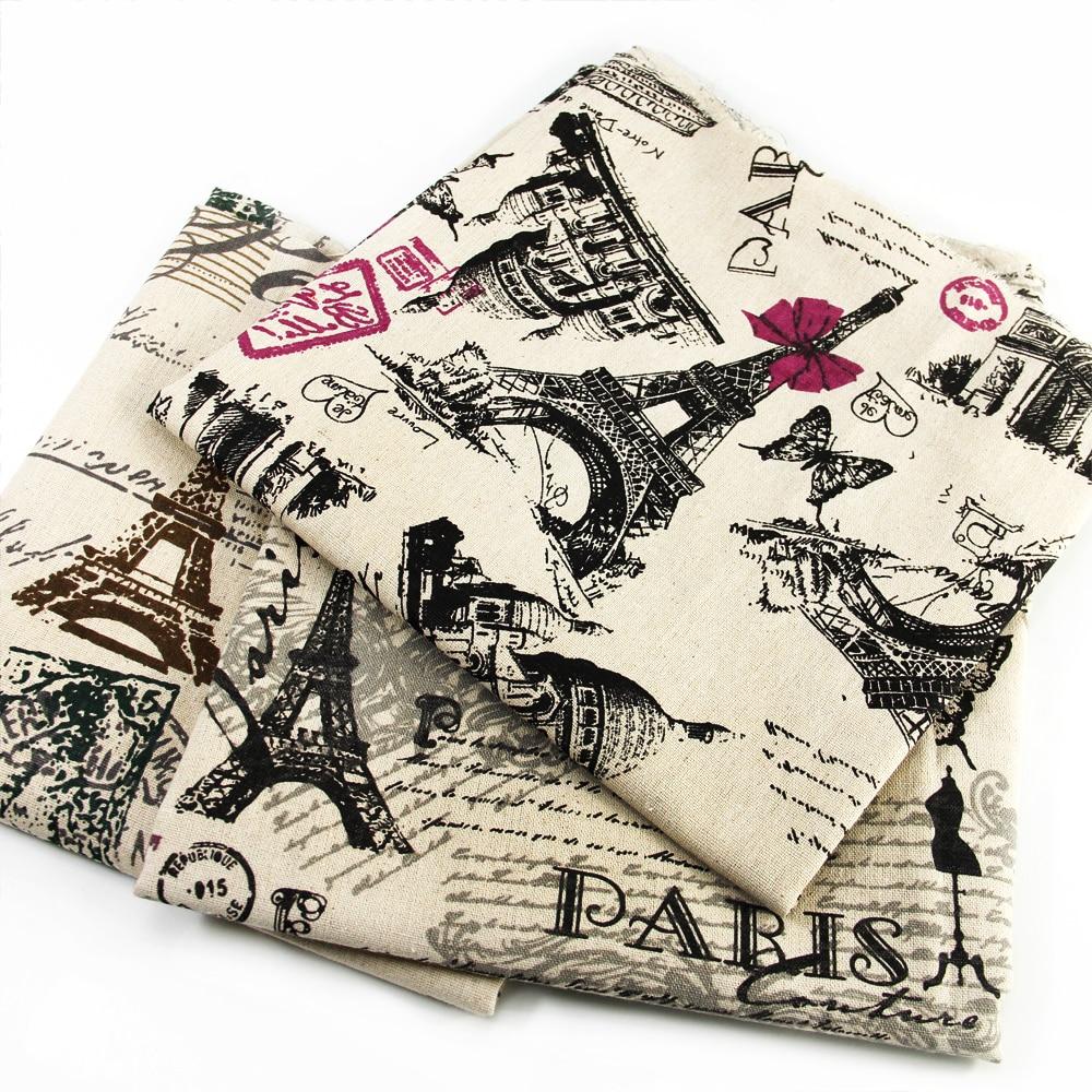 ᗔ50*150 cm patchwork impreso lona par de lino para el tejido de los ...