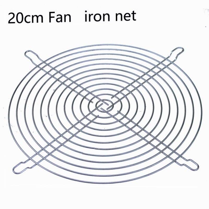 1 Piezas 80mm 80 20 Cm 200mm Fan De La Red De La Parrilla De Acero Inoxidable Protector De Cubierta Para Ac Ventilador De Filtro De Polvo Tiempo Puntual