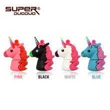Unicorn usb2.0 flash drive disk 4gb 8gb 16gb memory stick Pen drive 32gb 64gb
