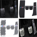 Car-Styling High quality Aluminium Alloy Rest Gas pedal Brake Pedal for BMW X1 M3 E39 E46 E87 E84 E90 E91 E92