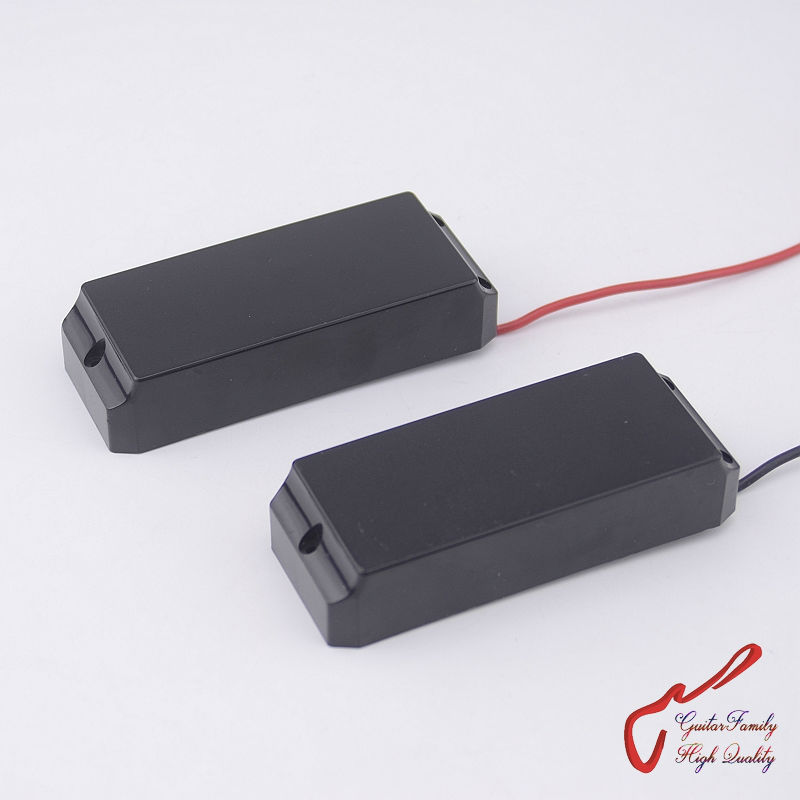 1 Set GuitarFamily Original Genuine Electric Bass Pickup For Epiphone Thunderbird ( 1268# ) MADE IN KOREA epiphone les paul studio ebony ch