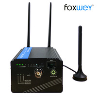 HD SDI Live Streaming Hardware H265 Audio Video streaming over 4G encoder tv live streaming church Wedding IP Broadcast FOXWEY