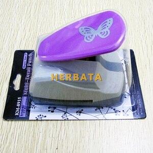 Image 5 - Бесплатная доставка, 4,7 см, Дырокол в форме бабочки 3D, резак для бумаги для поздравительной открытки, ручной работы, Дырокол