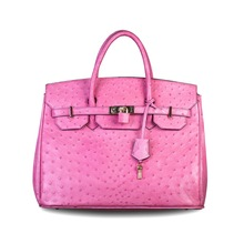 Butterfly Fish Female Genuine Leather Handbags Large Space Lady s Messenger Bags Ostrich Leather Bags Free