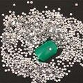 Nuevo 1000 unids/bolsa 2mm Claro colores Rhinestones de la Resina Micro Piedras Mini Nail Rhinestones Del Arte Del Clavo Decoraciones Z032E