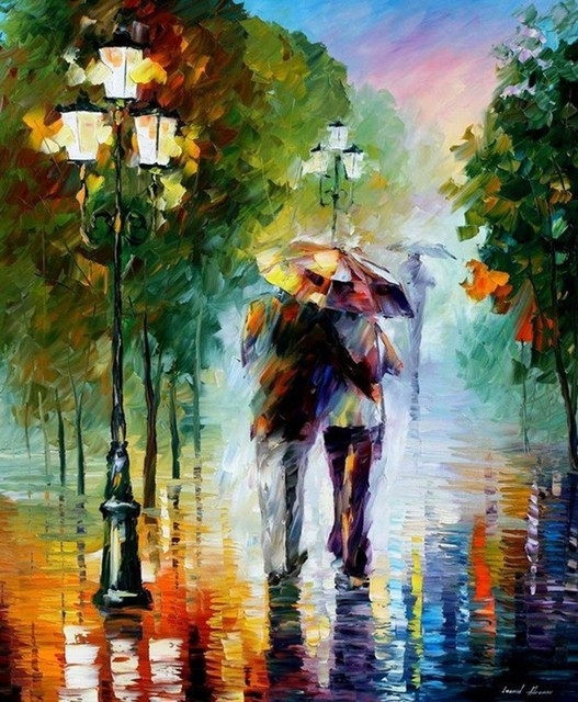 best art scenery oil painting on canvas original directly