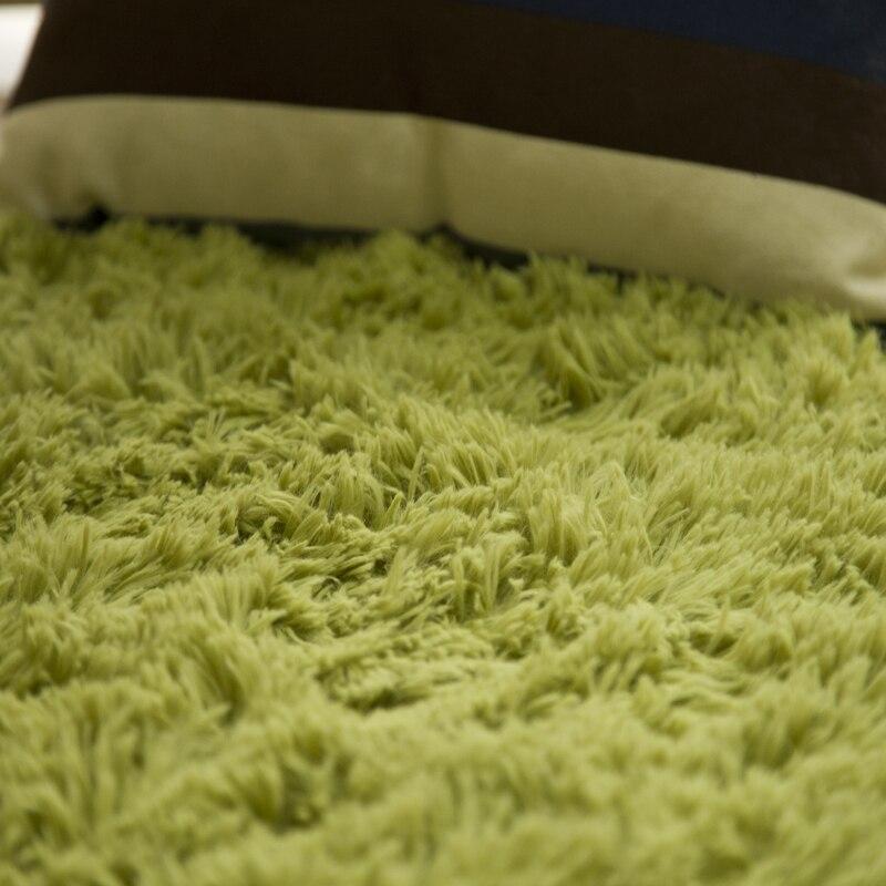 Tapis Shaggy doux pour salon maison européenne chaud tapis de sol en peluche tapis moelleux chambre d'enfants fausse fourrure tapis de salon - 3