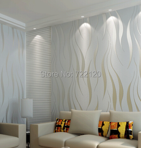 10M*0.53M Home Garden Trendy Striped Wallpaper Modern Living Room Wallpaper  House Ornamentation Non