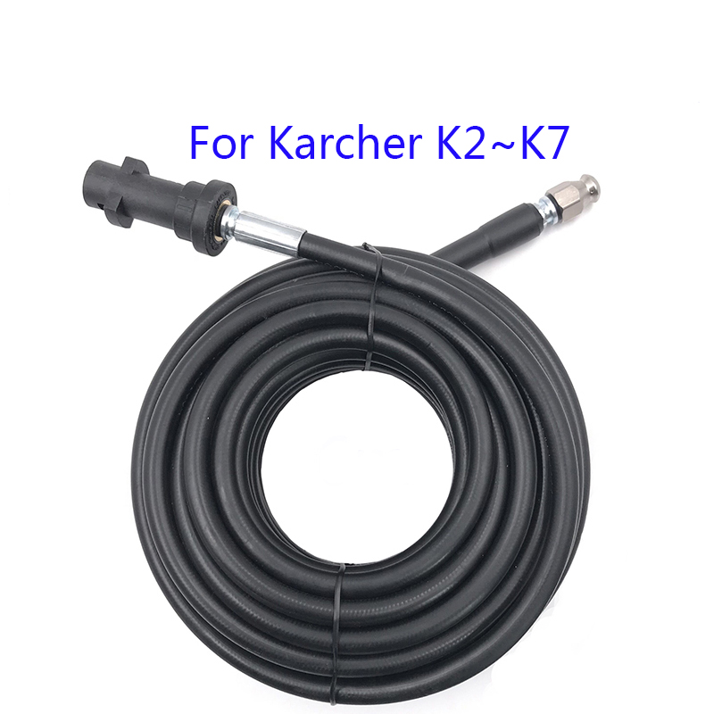 6m 10m 15m 20 Meters Sewer Drain Water Cleaning Hose For Karcher K1 K2 K3 K4 K5 K6 K7 High Pressure Washer