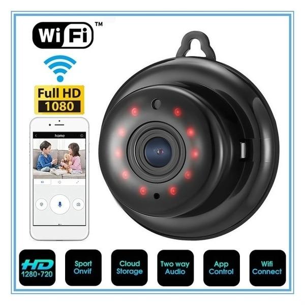 Wireless Wifi Camera Wireless Mini WIFI Fisheye IP Camera HD 1080P Smart Home Security Camera Night Vision Protective Home CM.Q2