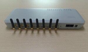 Image 3 - מקורי DBL GoIP 8 יציאות gsm gateway/voip sip gateway/IP GSM Gateway/GoIP8 VoIP 8 ערוצים תמיכת SIP/H.323 עבור IP PBX שרת