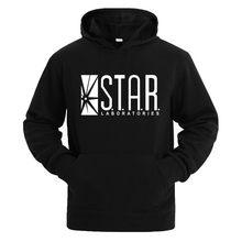 1cdc9f24193573 STAR labs czarne kobiety/mężczyźni bluzy z kapturem męska bluza z kapturem  sweter lampy błyskowej