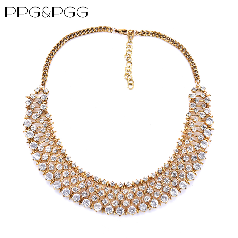 Unique numerous Kate same style crystal necklace statement necklace za chokers necklace for women dress