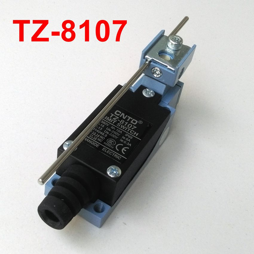 CNTD TZ-8107 Momentary Rotary Adjustable Lever Limitted Switch 660v ui 10a ith 8 terminals rotary cam universal changeover combination switch