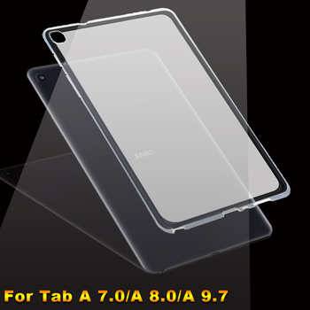 Case For Samsung Galaxy Tab A 7.0 8.0 9.7 2017 2018 2019 Silicone Tablet Cover SM T280 T350 T380 T385 T387 P200 P205 T550 T555 image